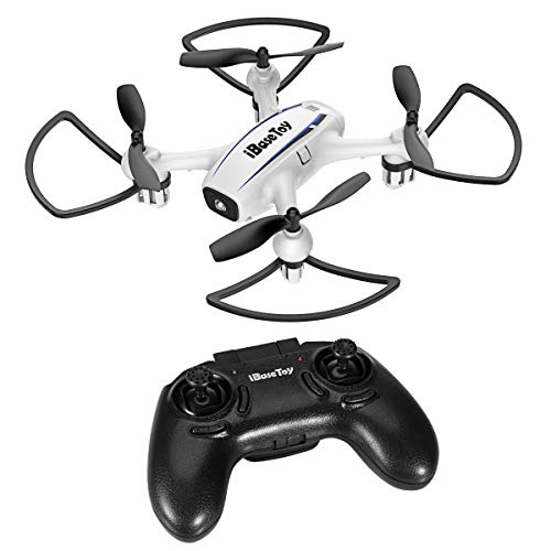 Mini RC Quadcopter Drone for Kids Adults and Beginners, iBaseToy Training Quadcopter 2.4GHz 6-Axis Gyro 4 Channels with Altitude Hold Function, 3D Flips, Headless Mode and One-Key Return, Easy to Fly For Sale