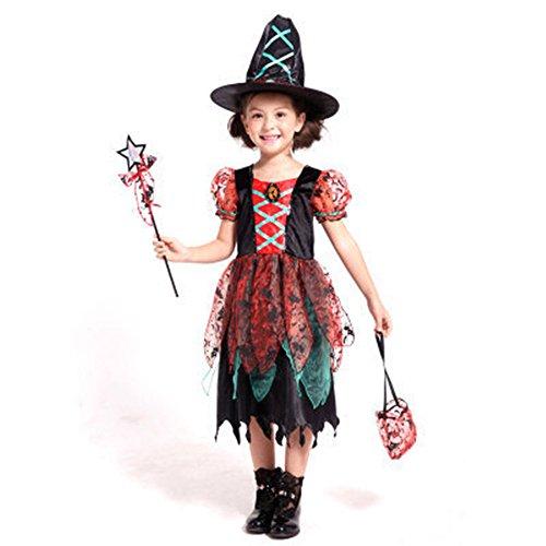 Cosplay Costume Oops (Lanxirui Girls Halloween Stage Costume Fairy Cosplay Party Fancy Dress 150)