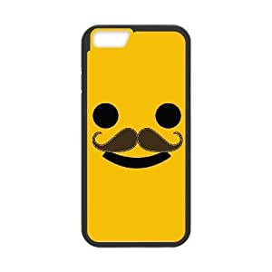 """Custom Smiley Mustache Case for iPhone 6 4.7"""", DIY Smiley Mustache Iphone6 4.7"""" Phone Case, Smiley Mustache iPhone 6 Case Cover"""