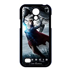caso i9190 Supergirl K3P12M6II funda Samsung Galaxy S4 Mini funda 45QJV6 negro
