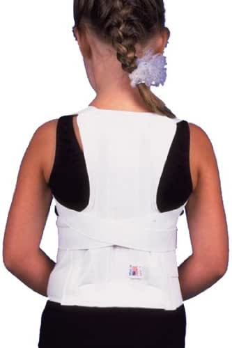Ita-med Complete Pediatric Children Posture Corrector Back Support Brace TLSO-250(P), Large
