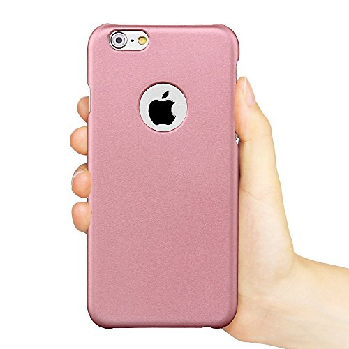 iPhone 6s Case, Acewin [Exact-Fit] iPhone 6s (4.7) Ultra Thin Slim Case Soft Finish Coated Surface with Premium Matte Hard Case Cover for iPhone 6s (Rose Gold)