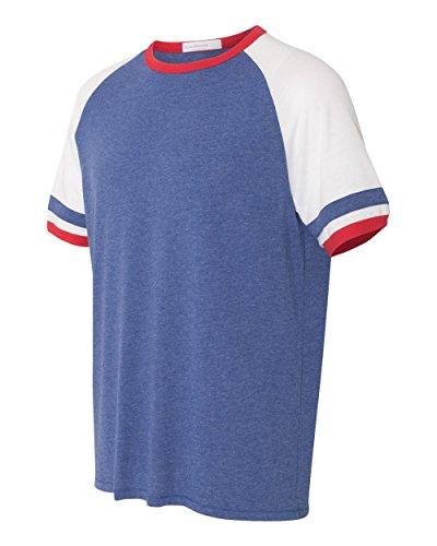 Alternative Men's The Slapshot Tee Vintage Royal/White/Red T-Shirt