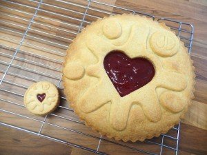 Giant Jammy Dodger Cake Mould