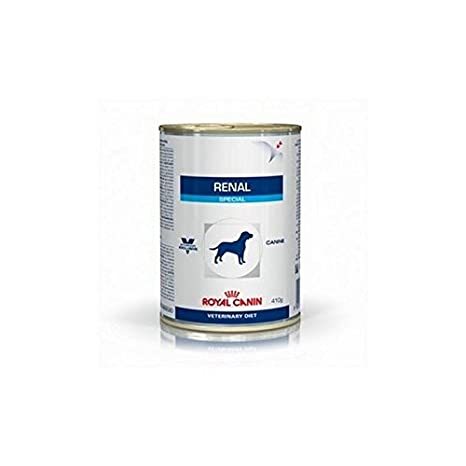 Royal Canin Vet Diet Renal Special Canine - Comida para perros (12 x 410 g
