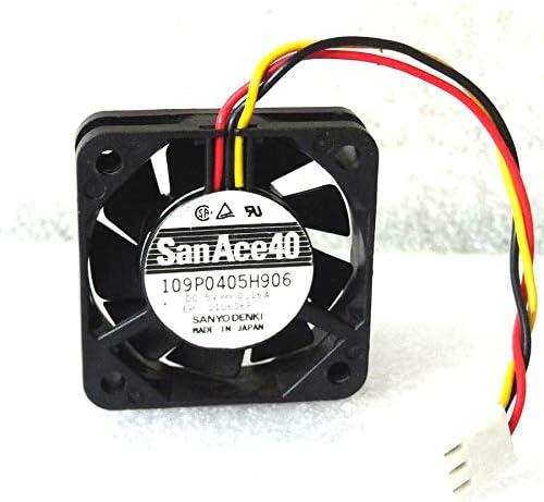 Cooler Fan for Sanyo Denki San Ace 40mm x 10mm Fan 5V DC 3 Pin Made in Japan 109P0405H906