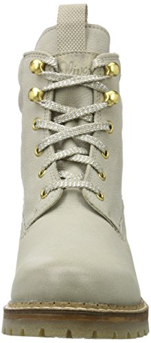 25204 Champagner Boots Combat s Beige Damen Oliver p7xqxa4T