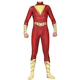 - 41FN23XrRyL - Fasuit Cosplay Zentai Jumpsuit Bodysuit Spandex Halloween Costumes 3D Style Adult Kids