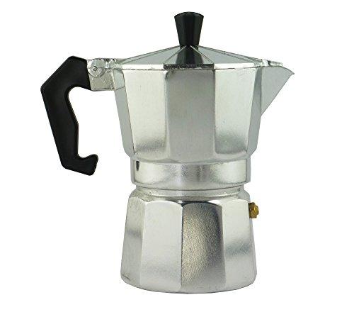 Aluminum Stovetop Italian Espresso Maker Moka Pot – 3 Cup Capacity