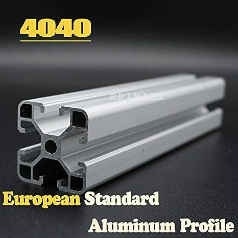Ochoos CNC Impresora 3D partes estándar europeo anodizado lineal ...