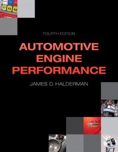 Automotive Engine Performance (4th Edition) (Automotive Systems Books)