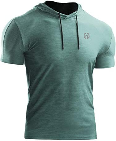 Neleus Performance Athletic Shirt Hoods