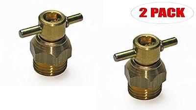 Stanley CAP1516 Compressor Replacement Drain Valve (2 Pack) # 7130280000-2PK