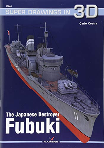 The Japanese Destroyer Fubuki (Super Drawings in 3D)