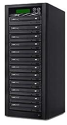 Bestduplicator BD-SMG-11T 11 Target 24x SATA DVD Duplicator with Built-In M-Disc Support Burner (1 to 11)