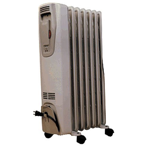 delonghi 2507 portable radiator and heater. Black Bedroom Furniture Sets. Home Design Ideas