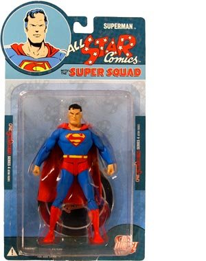DC Comics Reactivated! Series 4: Super Squad: Superman Action Figure