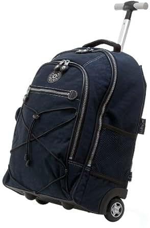 "Kipling Sausalito 18"" Wheeled Backpack, True Blue, One Size"