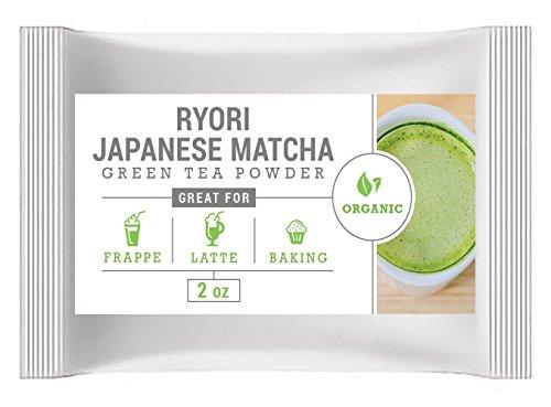 Cheap Japanese Matcha Ryori (2oz) – USDA Organic, Vegan and Gluten-Free. Pure Matcha Green Tea Powder. Fall-Green color with mild natural bitterness.