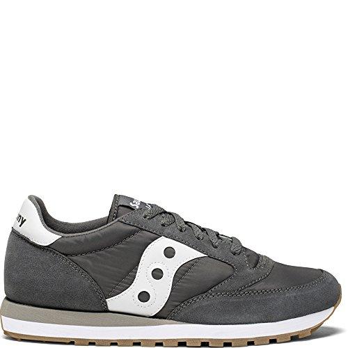Saucony Originals Men's Jazz Original Running Shoe, Grey, 10 Medium - Classic Saucony Shoes