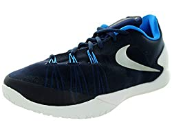 Nike Hyperchase Tb Mens Trainers 749554 Sneakers Shoes (Uk 9 Us 10 Eu 44, Mid Navy Metallic Silver White Photo Blue 402)