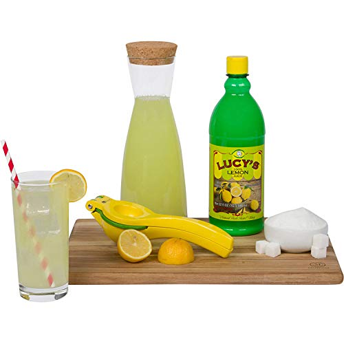 Lucy's Family Owned - Premium Lemon Juice, 32 oz. Bottle (Pack of 2)