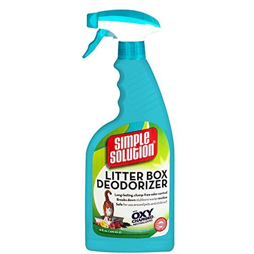 Bramton Carpet Solution Simple (Simple Solution 16-Ounce Cat Litter Box Deodorizer Spray Bottle)