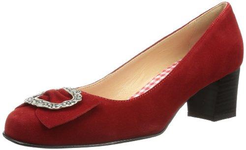 Diavolezza Celine Scarpe Con Tacco, Donna rosso
