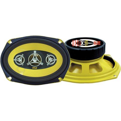 450 Watt Four Way Speakers (PYLE PLG71.4 7-Inch x 10-Inch 450 Watt Four-Way Speakers)