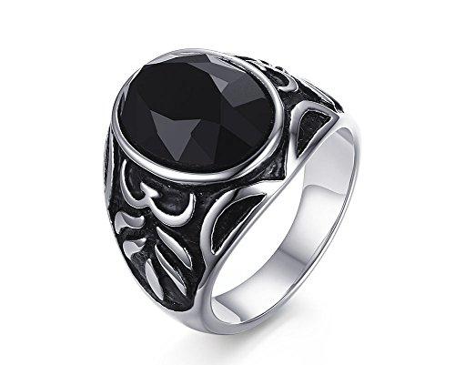 Agate Finger Ring - 5