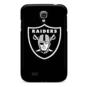 Fashion Tpu Case For Galaxy S4- Oakland Raiders 2 Defender Case Cover