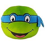 Nickelodeon The Northwest Company - Tortugas Ninja, Teenage Mutant Ninja Turtles, cojín ultraelástico de Leo 3D, 28 cm (11 Pulgadas), 1, 1
