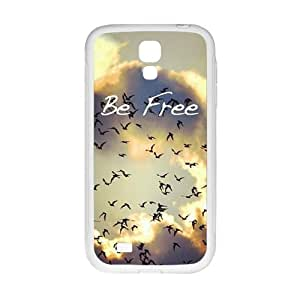 Happy be free Phone Case for Samsung Galaxy S4