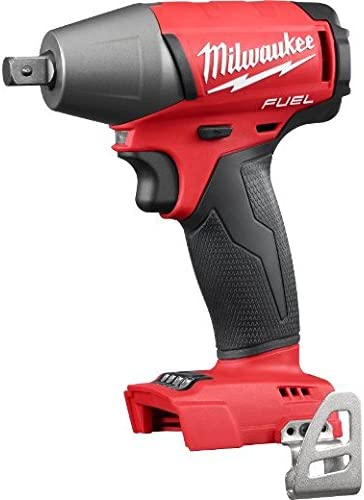 Milwaukee 2755-20 Fuel 1//2 Inch Compact Impact Wrench with Pin Detent Tool Only