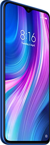Redmi Note 8 Pro (Electric Blue, 6GB RAM, 64GB Storage with Helio G90T Processor) 2021 July 64MP AI Quad rear camera with portrait, ultra-wide lens, macro lens, LED flash, AI support, beautify support | 20MP front camera | Dedicated depth sensor Performance: Smooth gaming experience with powerful Helio G90T gaming processor, Game turbo and Liquid cooling technology 16.58 centimeters (6.53-inch) Dot Notch HDR Display with 2340 x 1080 pixels resolution and 19.5:9 aspect ratio | 2.5D curved glass