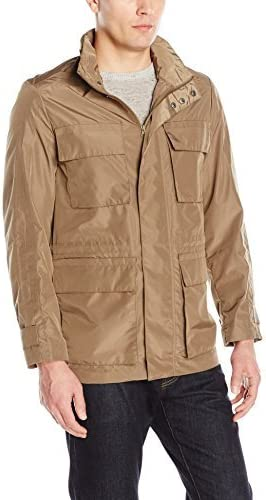 Andrew Marc Mens Harbor-31 Tech Oxford Field Jacket