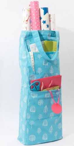 Christmas gift wrap storage box