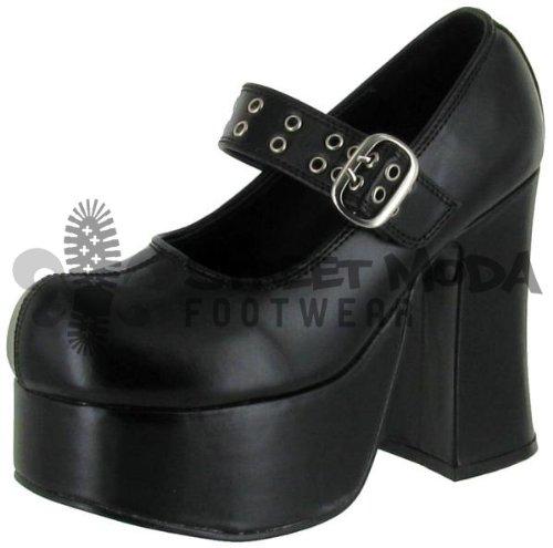 Demonia Charade-05 - gotica punk plataforma zapatos de tacón mujer - tamaño 36-43, US-Damen:EU-43 / US-12 / UK-9