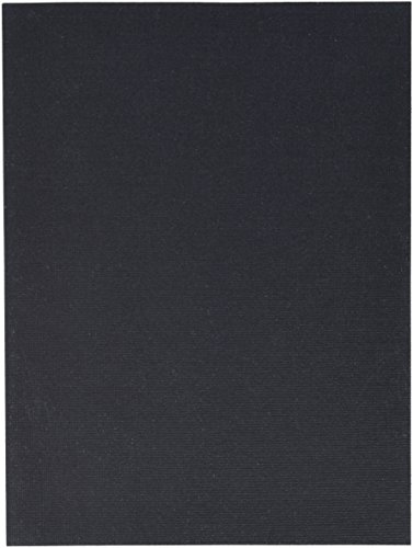 Fredrix 37231 Value Series Cut Edge Canvas Panel, 2.13'' Height, 12'' Width, 9'' Length, Black (Pack of 25) by Fredrix