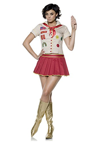 Girl Scout Halloween Costumes (Cookie Girl Cutie Costume)
