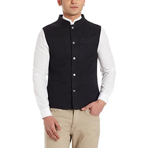 41FN9a18P1L. SS500  - United Colors of Benetton Men's Cotton Waistcoat
