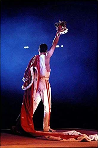 Roger Taylor Brian May Queen Freddie Mercury a British Rock Band John Deacon 12 X 18 Inch Poster