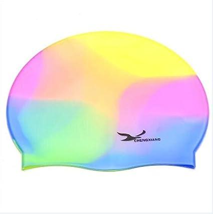 Water Sports Swim Caps 1-5 Pcs Adult Sports Silicone Swim Cap Flexible Durable Elasticity Swimming Hat