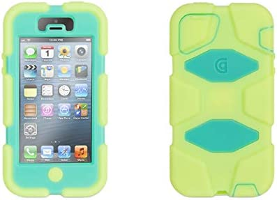 Griffin Survivor for iPhone 5, lime/mint - Ridiculously over