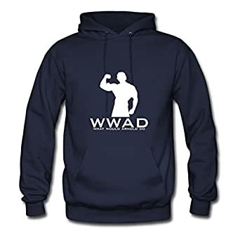What Would Arnold Do Avengers America Navy Hoody Regular X-large For Women Image