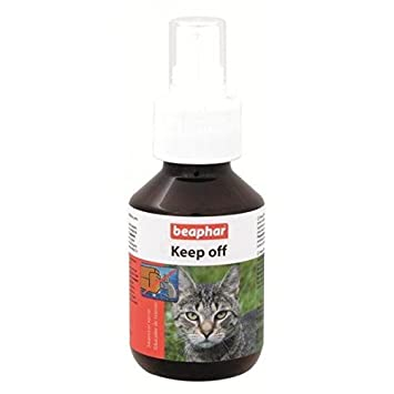 Beaphar BEA13666 Keep Off Spray Educador para Gatos - 100 ML: Amazon.es: Productos para mascotas