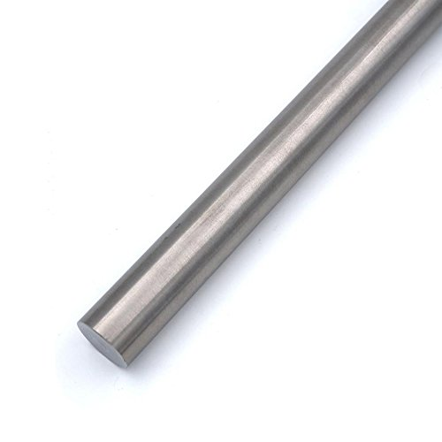 - Dia 40.0mm Titanium Round bar (1.57 Dia x 9.84 Long) Grade 2 Rod Stock,1pcs/Packaging