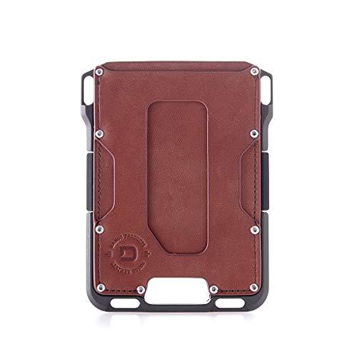 Dango M1 Maverick Wallet - Whiskey Brown/Slate Grey - Made in USA