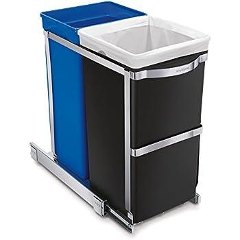 Amazon Com Simplehuman 30 Liter 8 Gallon Under Counter