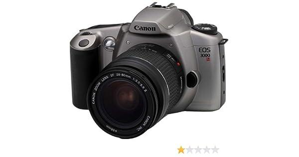 Canon - Cámara réflex Canon EOS 3000N (Incluye Objetivo Canon de ...